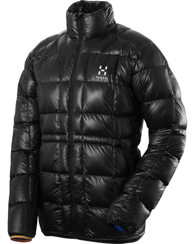 Haglofs - L.I.M Essens Jacket True Black - Down Jackets - M