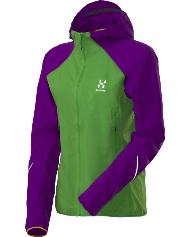 Haglofs L.I.M Q FLex Hood Ginko Green/Imperial Purple-30