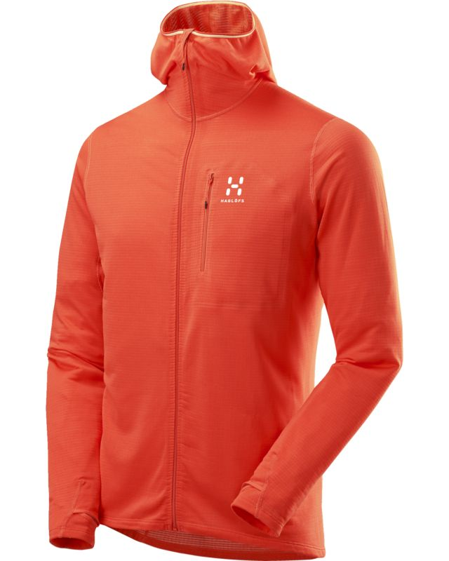 Haglofs L.I.M Power Dry Hood Men Dynamite-30