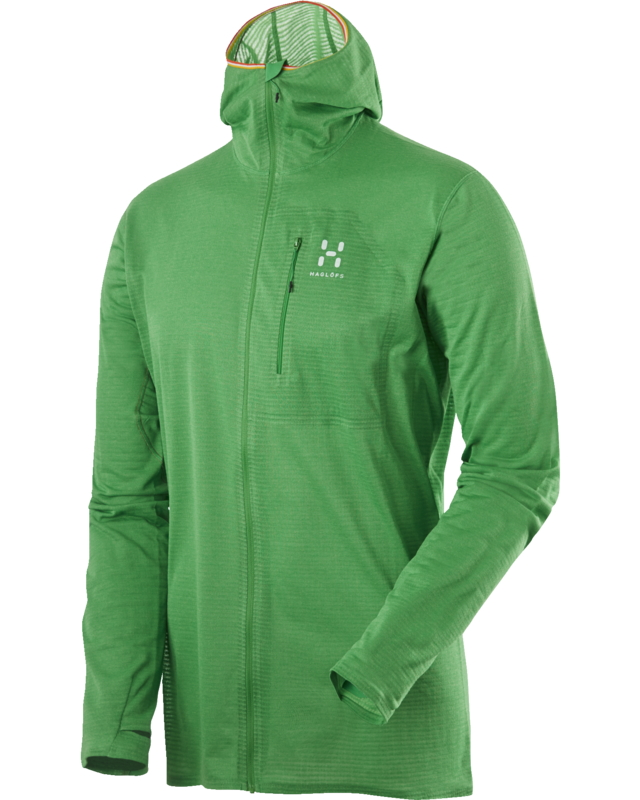 Haglofs L.I.M Power Dry Hood Ginko Green-30