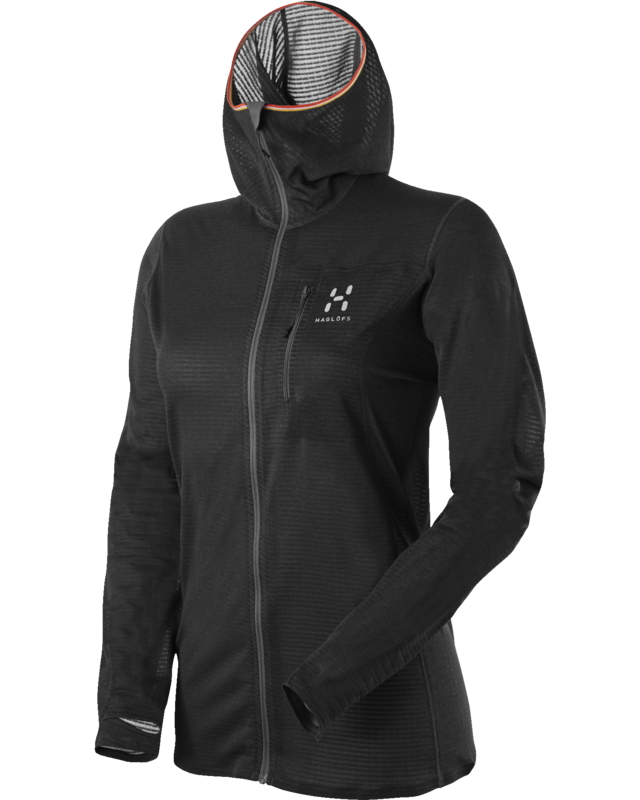 Haglofs L.I.M Q Power Dry Hood True Black-30