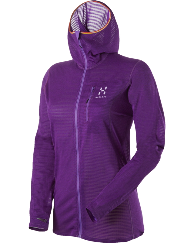 Haglofs L.I.M Q Power Dry Hood Imperial Purple-30