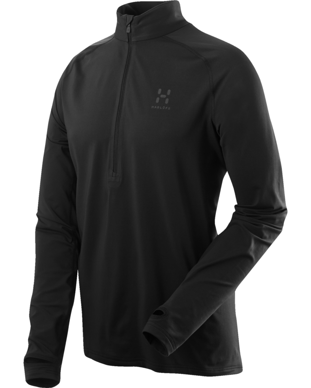 Haglofs Intense Zip Top True Black-30