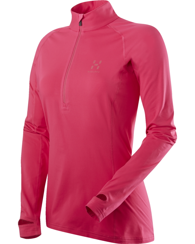 Haglofs Intense Q Zip Top Cosmic Pink-30