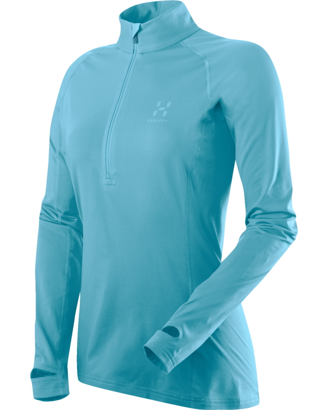 Haglofs Intense Q Zip Top Bluebird-30
