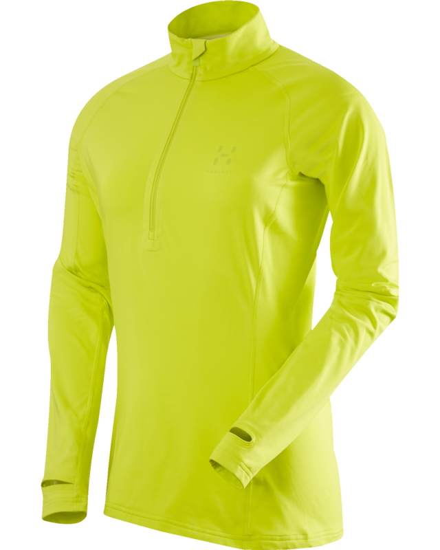 Haglofs Intense Q Zip Top Mantis-30
