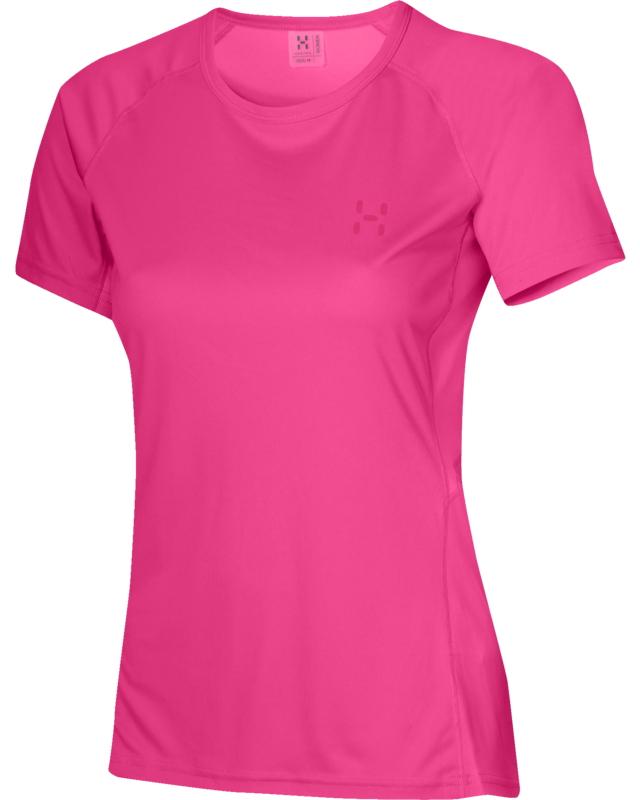 Haglofs Puls II Q Tee Cosmic Pink-30