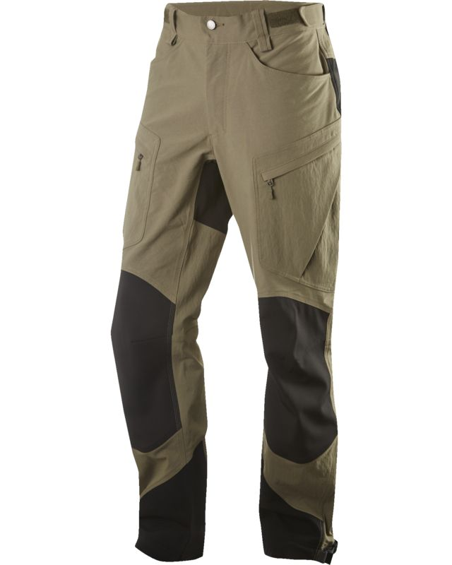 Haglofs Rugged II Mountain Pant Men Driftwood/True Black-30