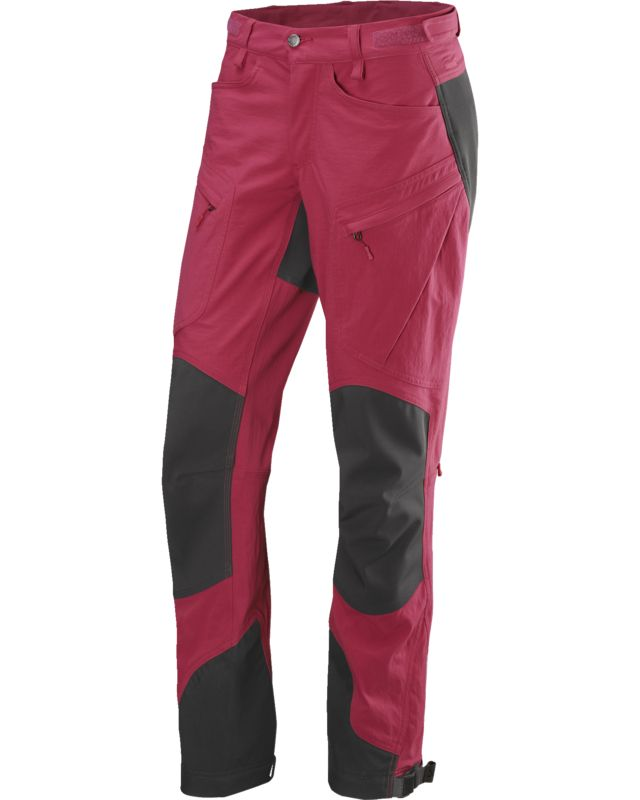 Haglofs Rugged II Mountain Pant Women Volcanic Pink/True Black-30