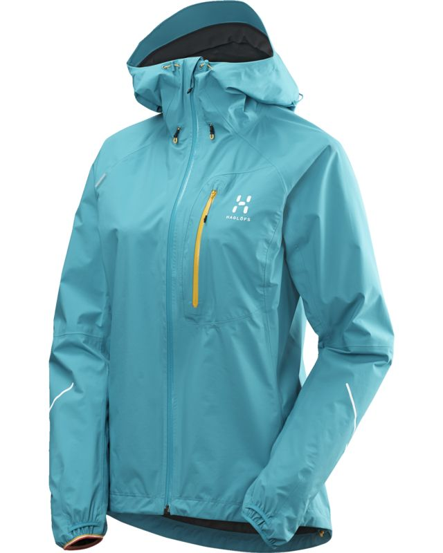 Haglofs L.I.M II Jacket Women Peacock-30