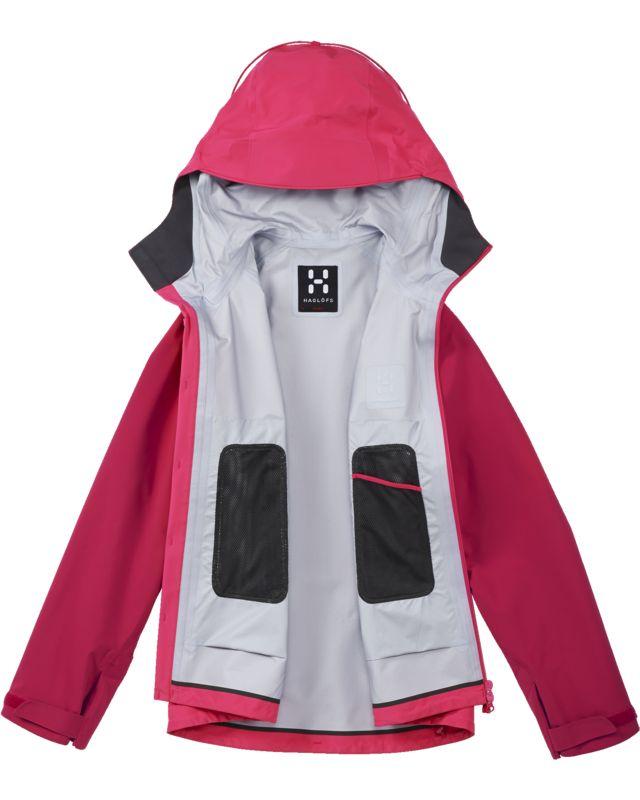 Haglofs Roc Spirit Jacket Women Cosmic Pink/Volcanic-30