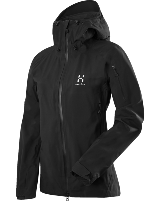 Haglofs Roc Fiction Q Jacket True Black-30