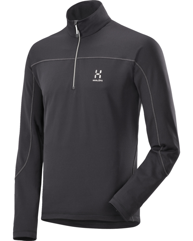 Haglofs Actives Warm II Zip Top True Black-30