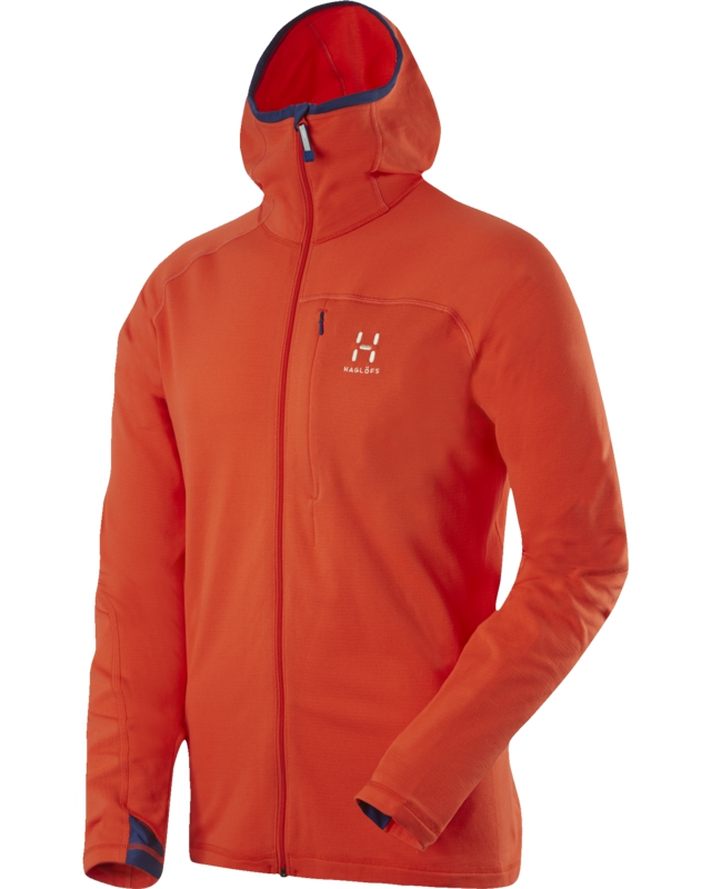 Haglofs Actives Warm II Hood Dynamite-30