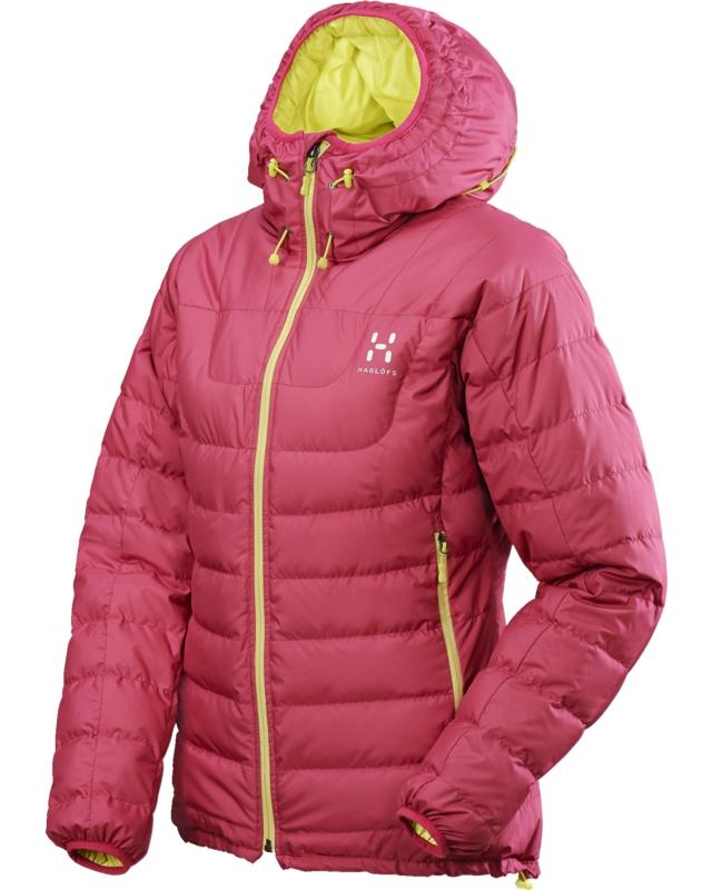 Haglofs Bivy Q Down Hood Volcanic Pink-30