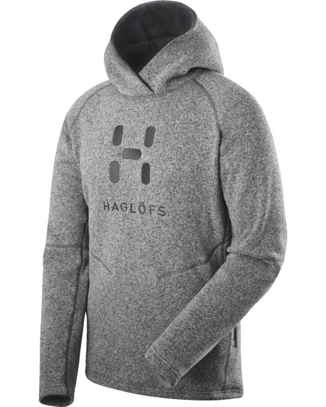 Haglofs Swook Logo Hood Concrete-30