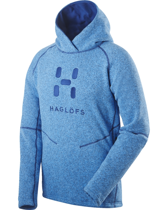Haglofs Swook Logo Hood Gale Blue-30