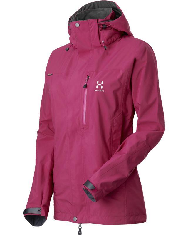 Haglofs Vandra II Jacket Women Volcanic Pink-30
