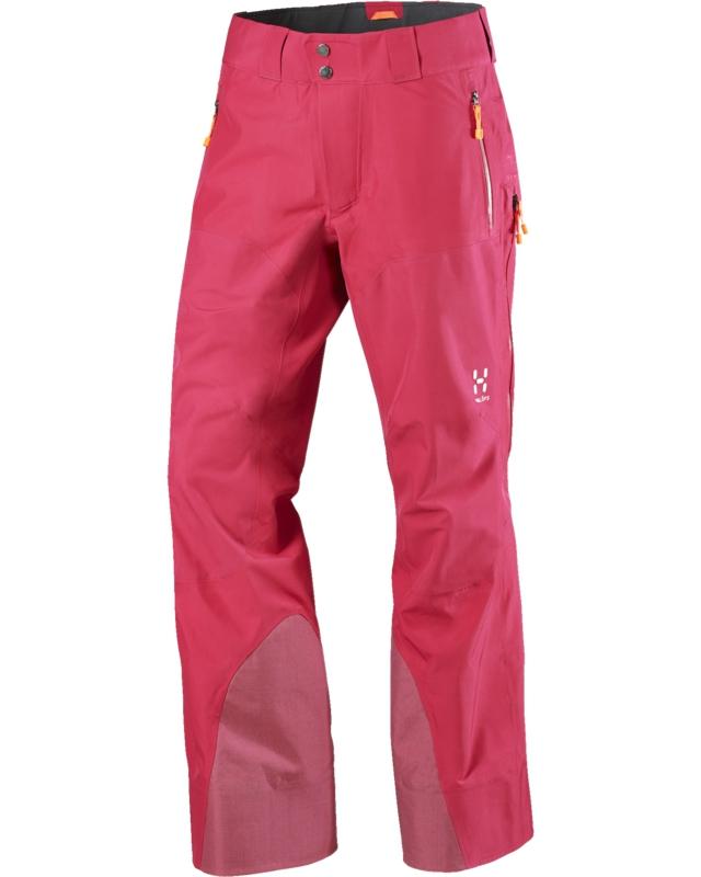 Haglofs Couloir IV Q Pant Volcanic Pink-30