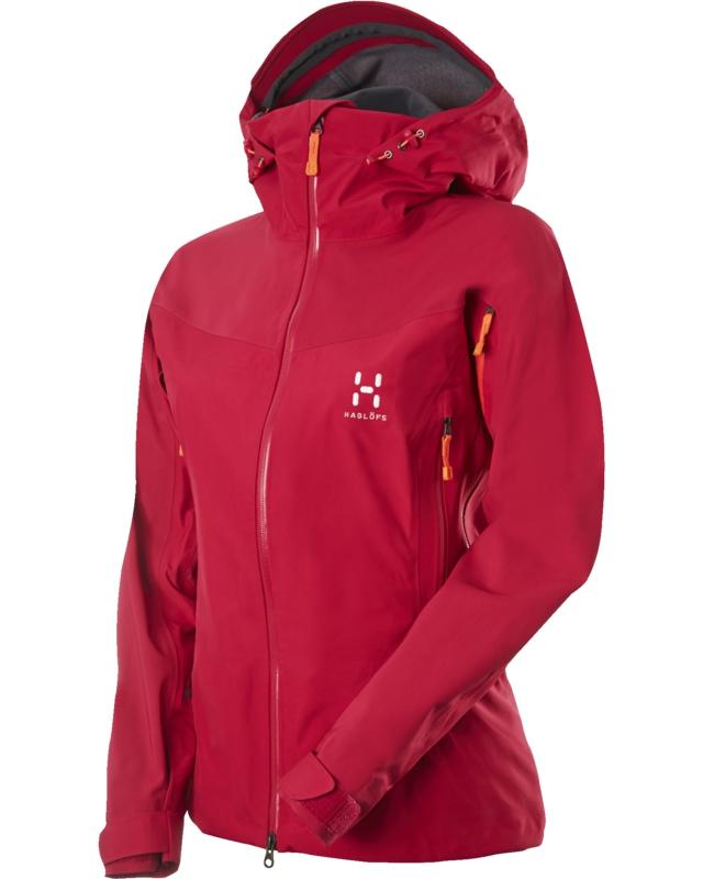 Haglofs Couloir IV Q Jacket Volcanic Pink-30