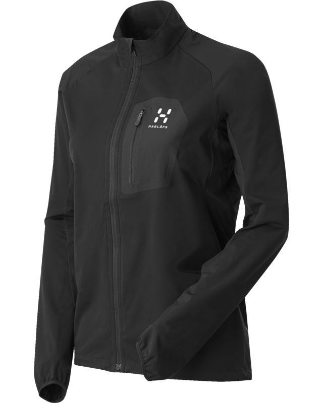 Haglofs Pace Jacket Women True Black-30