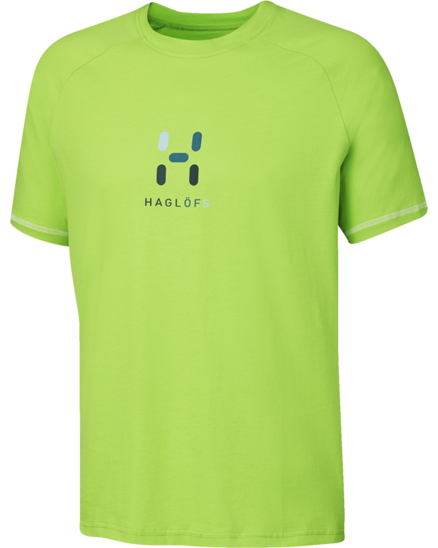 Haglofs Apex Logo Tee Mantis-30