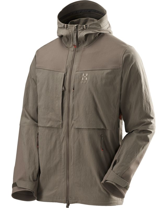 Haglofs Rugged Fjell Jacket Men Driftwood-30