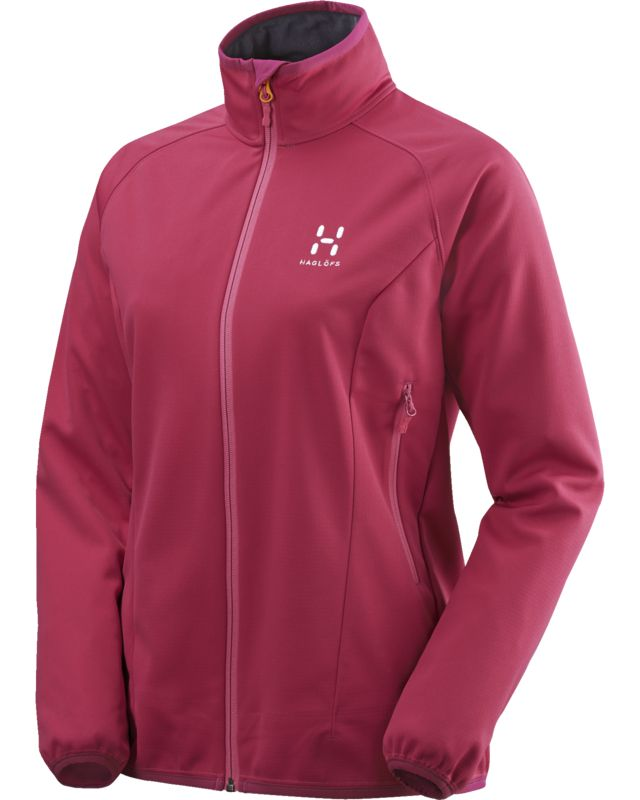 Haglofs Mistral Jacket Women Volcanic Pink-30
