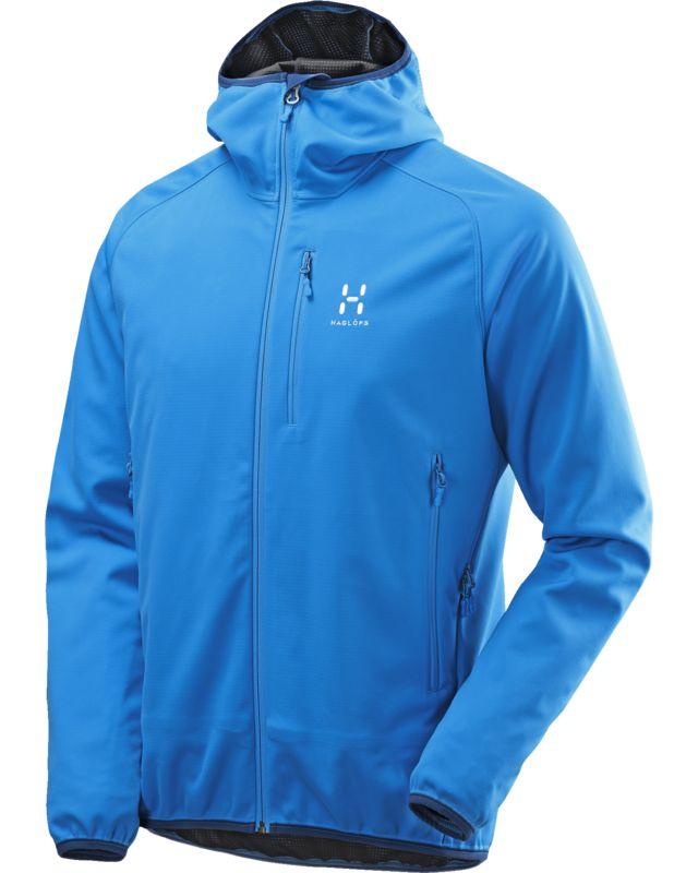 Haglofs Mistral Hood Men Gale Blue-30