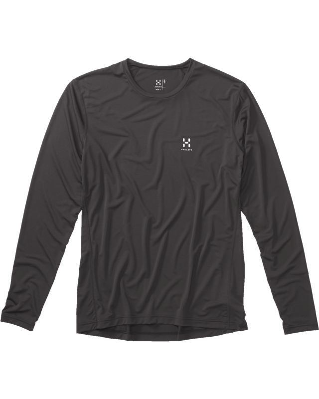 Haglofs Ridge LS Tee Men True Black-30