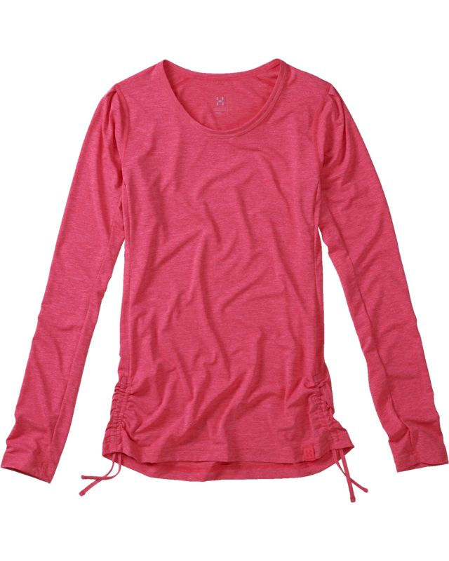 Haglofs Ridge LS Tee Women Cosmic Pink-30