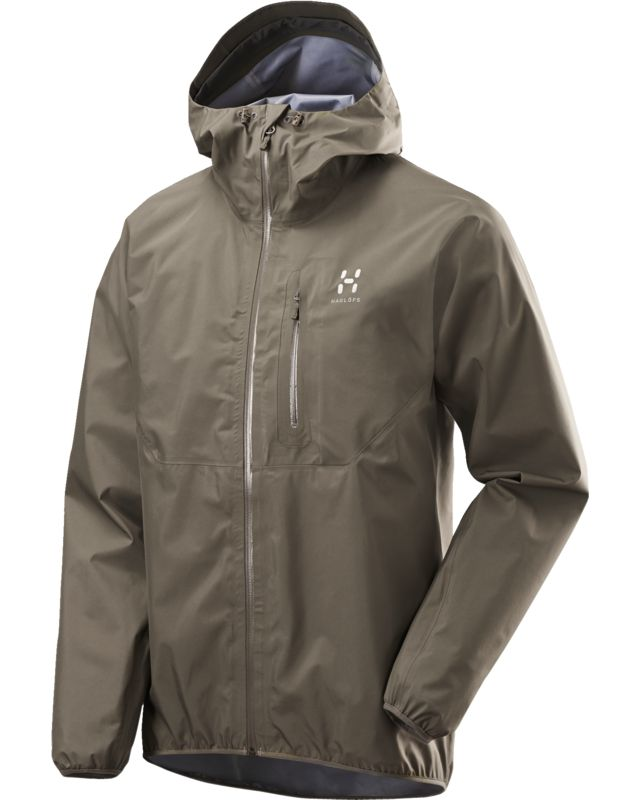 Haglofs Gram Comp Jacket Men Driftwood-30