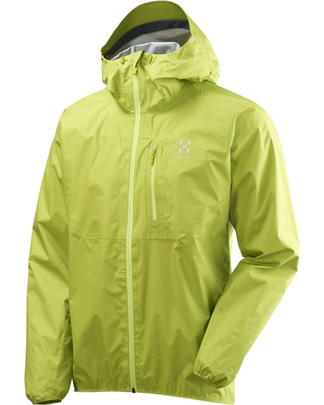 Haglofs Gram Proof Jacket Men Glow Green-30