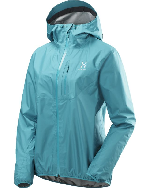 Haglofs Gram Proof Jacket Women Peacock-30