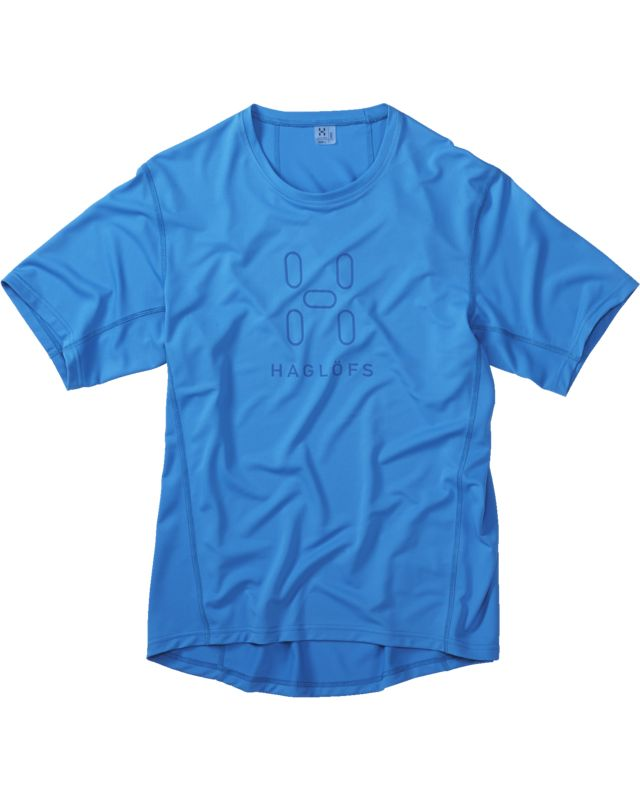 Haglofs Intense Logo Tee Men Gale Blue-30
