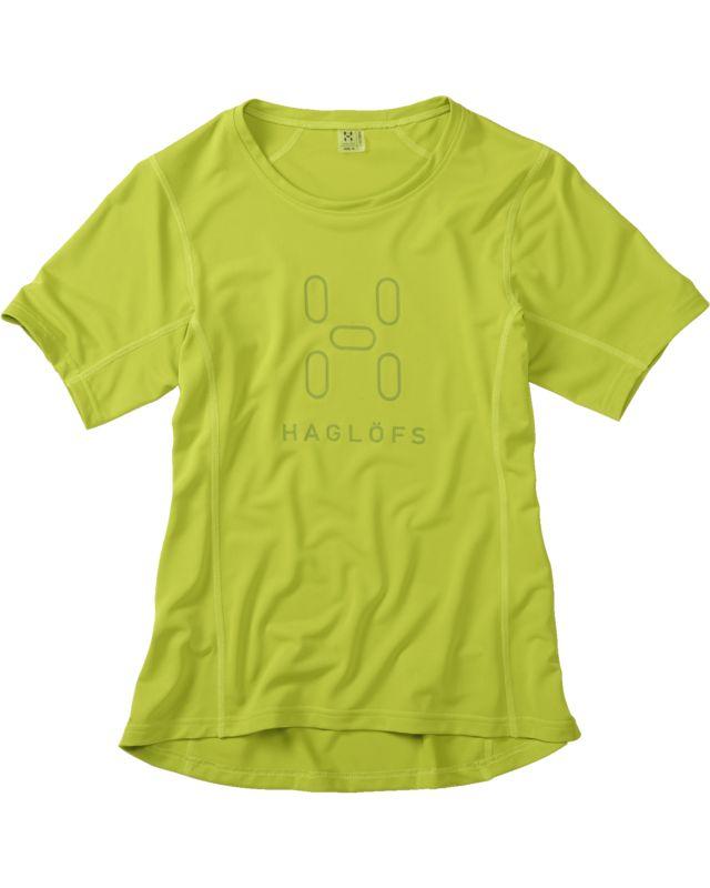 Haglofs Intense Logo Tee Women Glow Green-30
