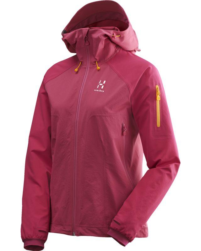 Haglofs Skarn II Hood Women Volcanic Pink-30