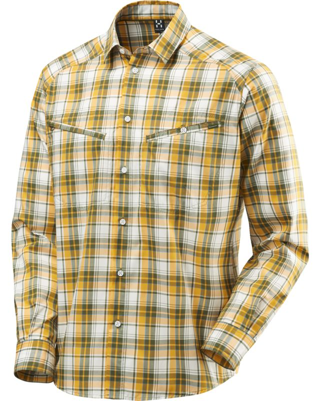 Haglofs Saba II LS Shirt Men Juniper/Sun-30