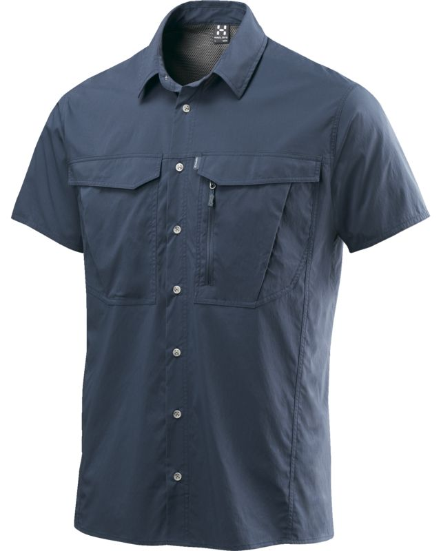 Haglofs Salo II SS Shirt Men Deep Blue-30