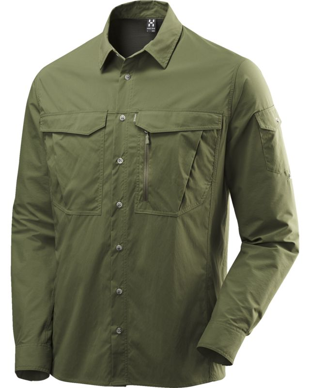 Haglofs - Salo II LS Shirt Men Juniper - Shirts - M
