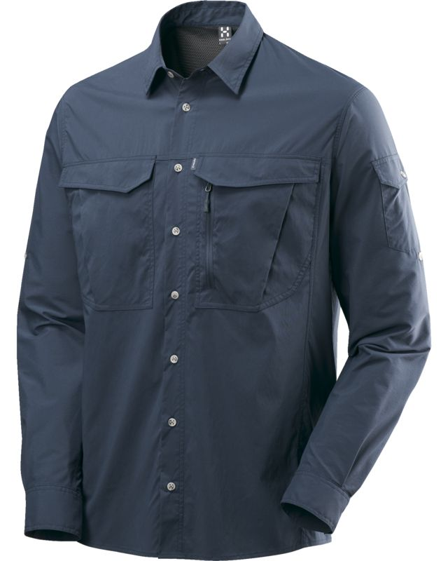 Haglofs Salo II LS Shirt Men Deep Blue-30