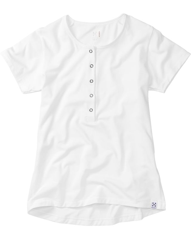 Haglofs Kipe Henley Women Soft White-30