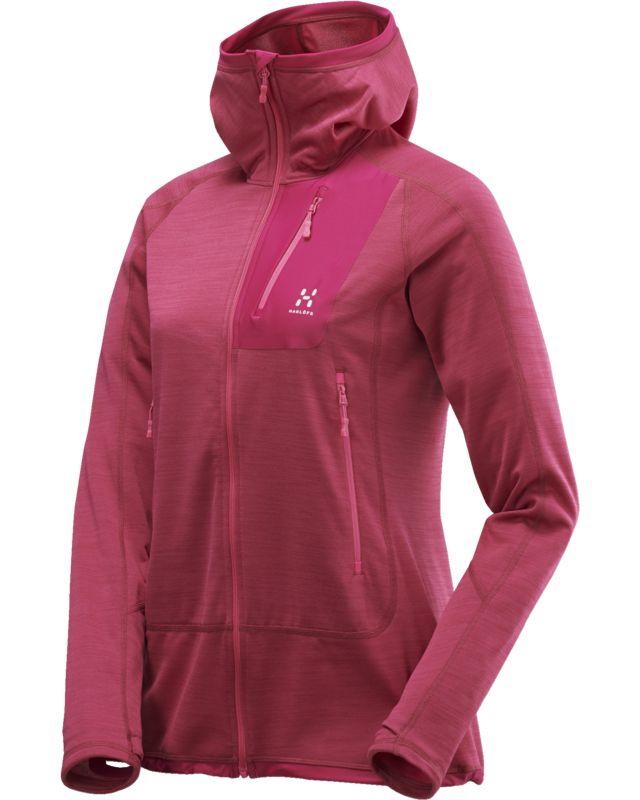 Haglofs Triton Pro Hood Women Volcanic Pink-30