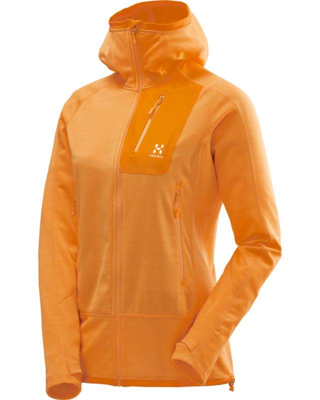 Haglofs Triton Pro Hood Women Saffron-30
