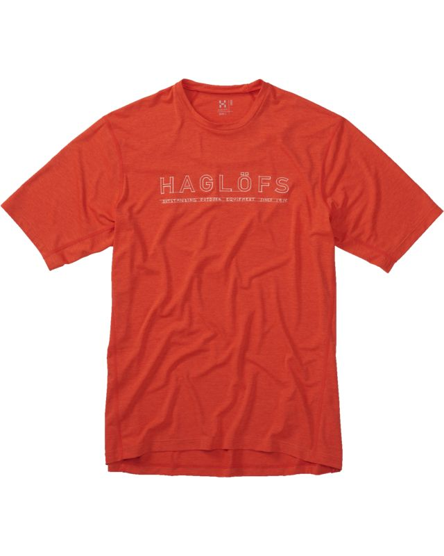 Haglofs Ridge II Tee Men Danger Lines-30