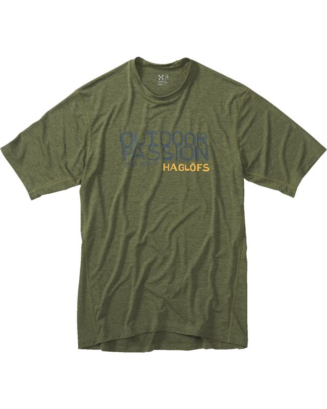 Haglofs Ridge II Tee Men Juniper Op-30