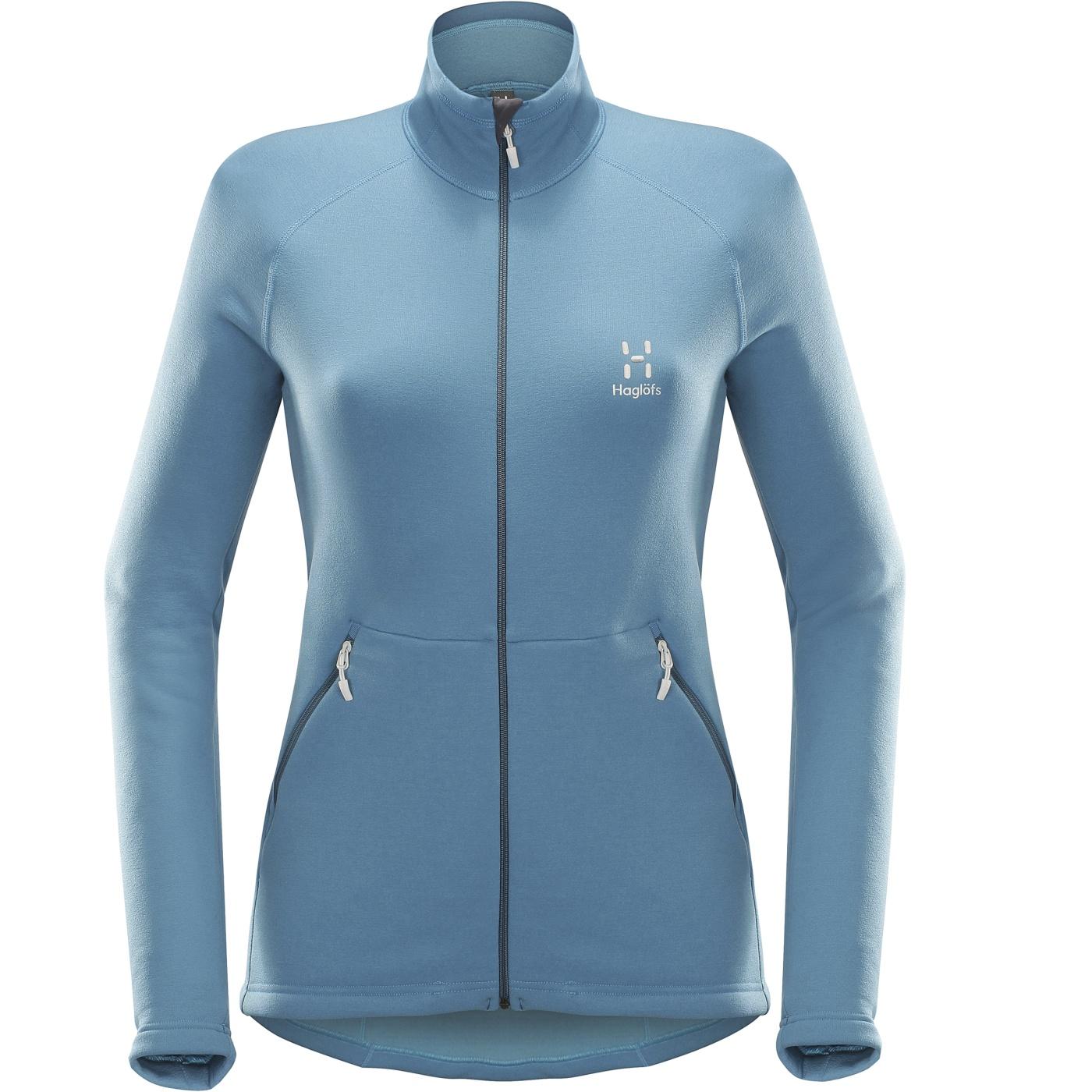 Haglofs Bungy Jacket Women Blue Fox-30