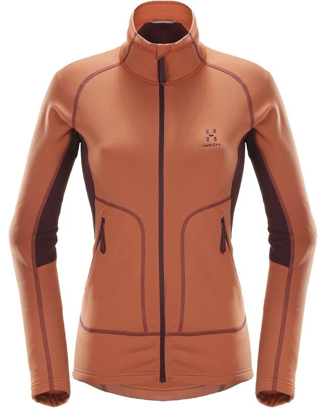 Haglofs Heron Jacket Women Dusty Rust/Aubergine-30