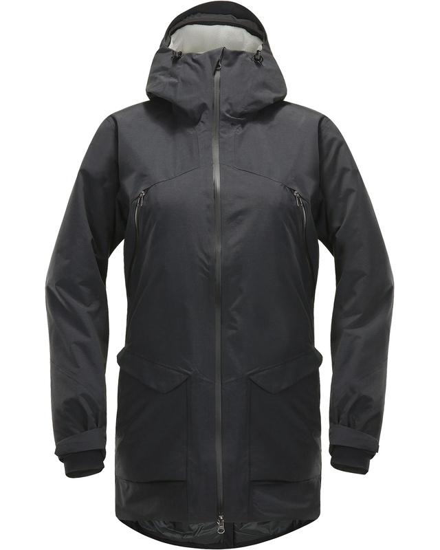 Haglofs Torsång Parka Women True Black-30
