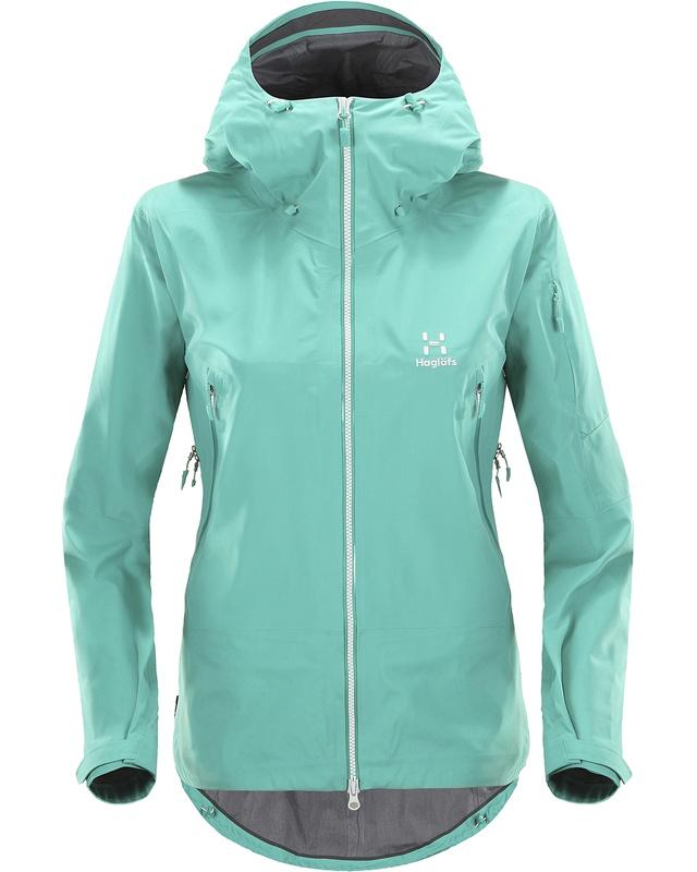 Haglofs Couloir Jacket Women Crystal Lake-30